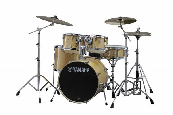 Yamaha Stage Custom trommesett m/HW780 stativpakke